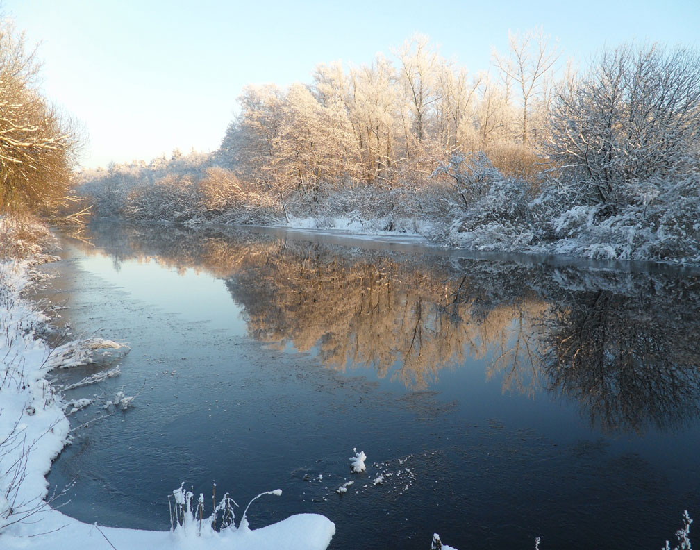 Picture Winter River