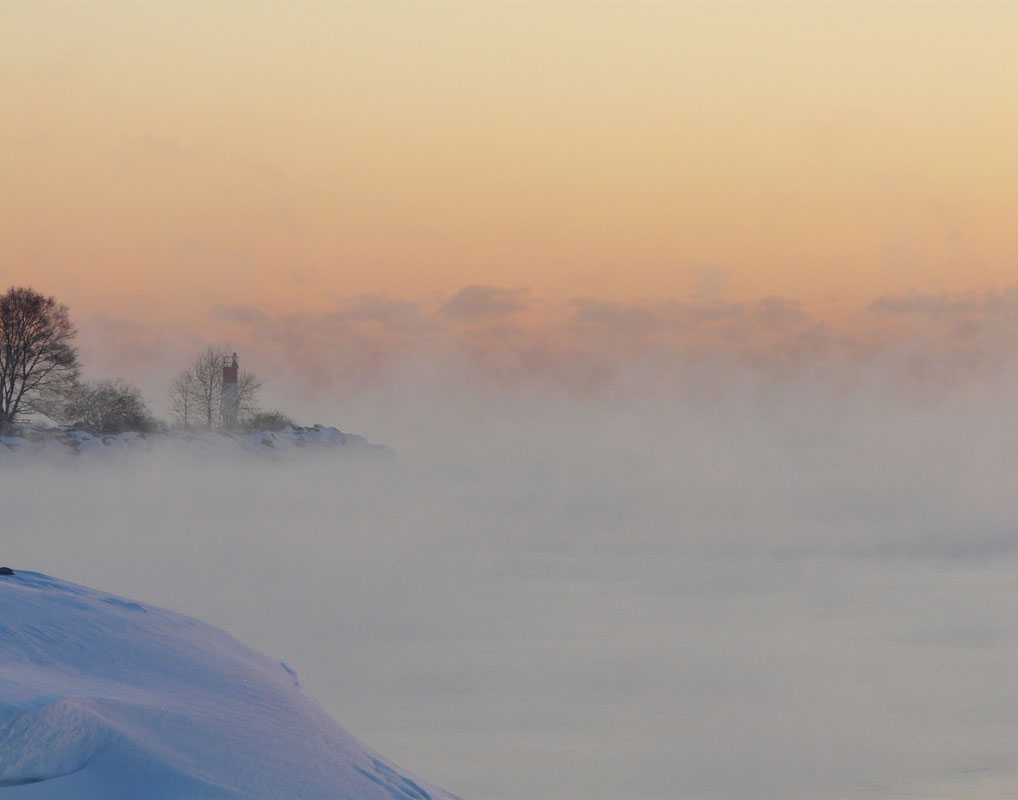 Picture Winter Fog