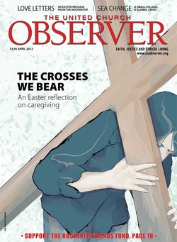 Observer Cover Illustration by Donna Pidlubny